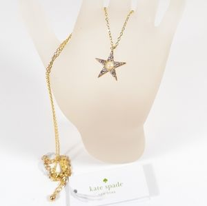 """Kate Spade Necklace """"Seeing Stars"""" NWT"""